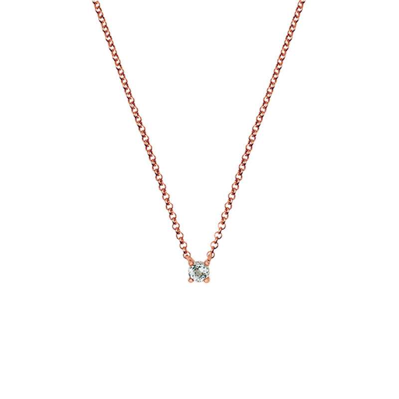 Colgante cuarzo pequeño plata recubierta oro rosa, J03117-03-GQ, hi-res
