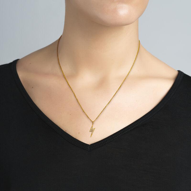 Colgante rayo topacio plata recubierta oro, J03638-02-WT, hi-res