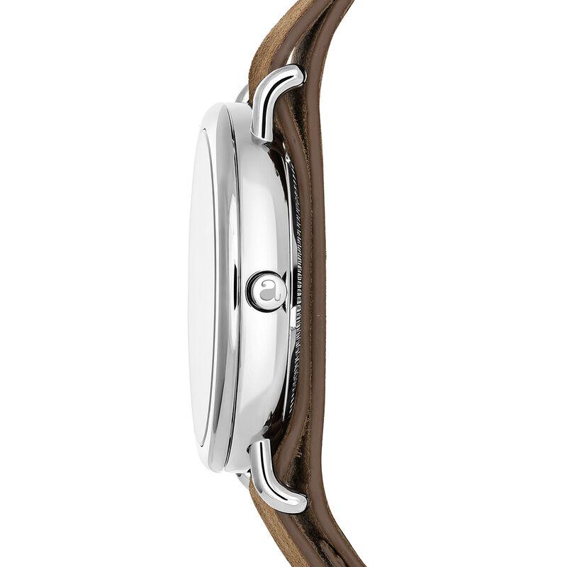 Montre Camps Bay bracelet cuir camel foncé, W49A-STSTBU-LEBR, hi-res