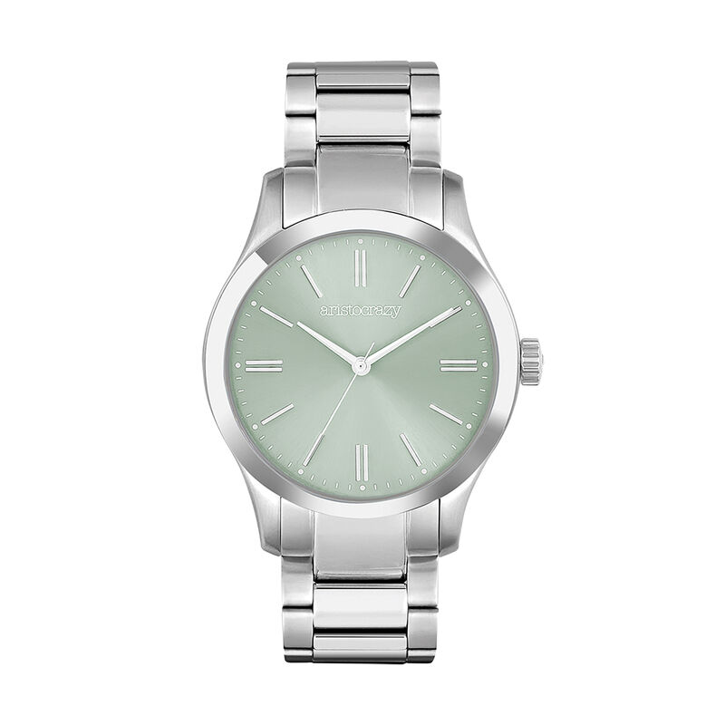 Green dial Mitte watch, W41A-STSTTU-AXST, hi-res