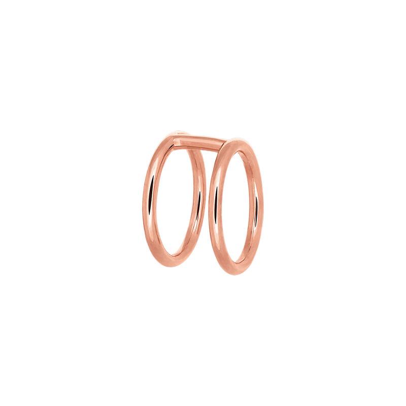 Pendiente círculo cartílago oro rosa, J03473-03, hi-res