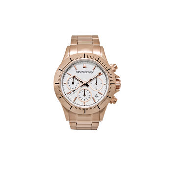 Reloj Soho armis oro rosa esfera blanca , W0024Q-STWH-STPK, hi-res