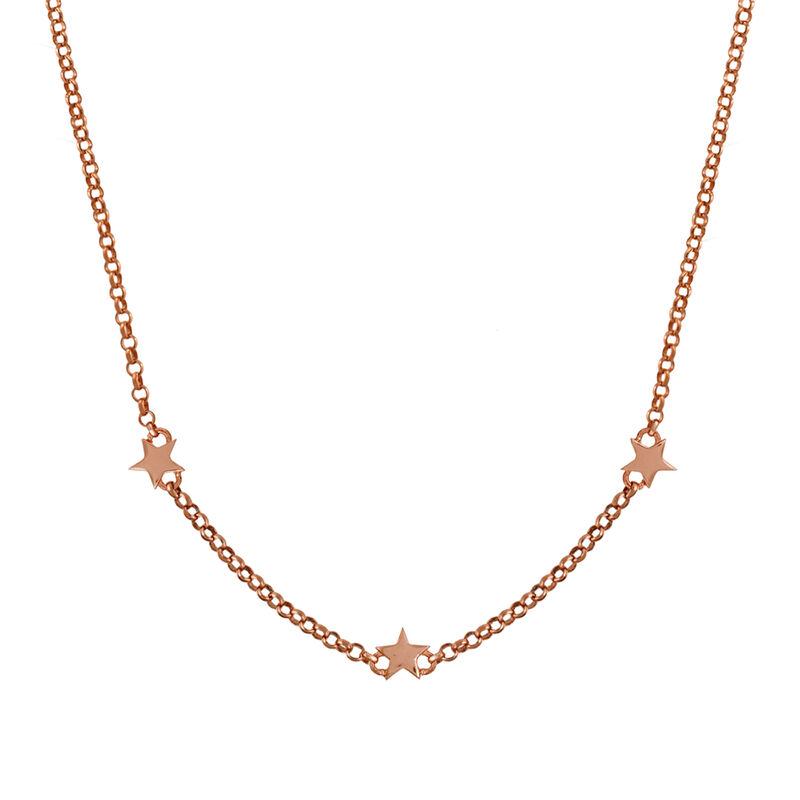 Colgante estrellas mini oro rosa, J01900-03, hi-res
