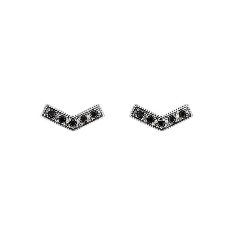 Pendientes en V espinelas plata, J03291-01-BSN, hi-res