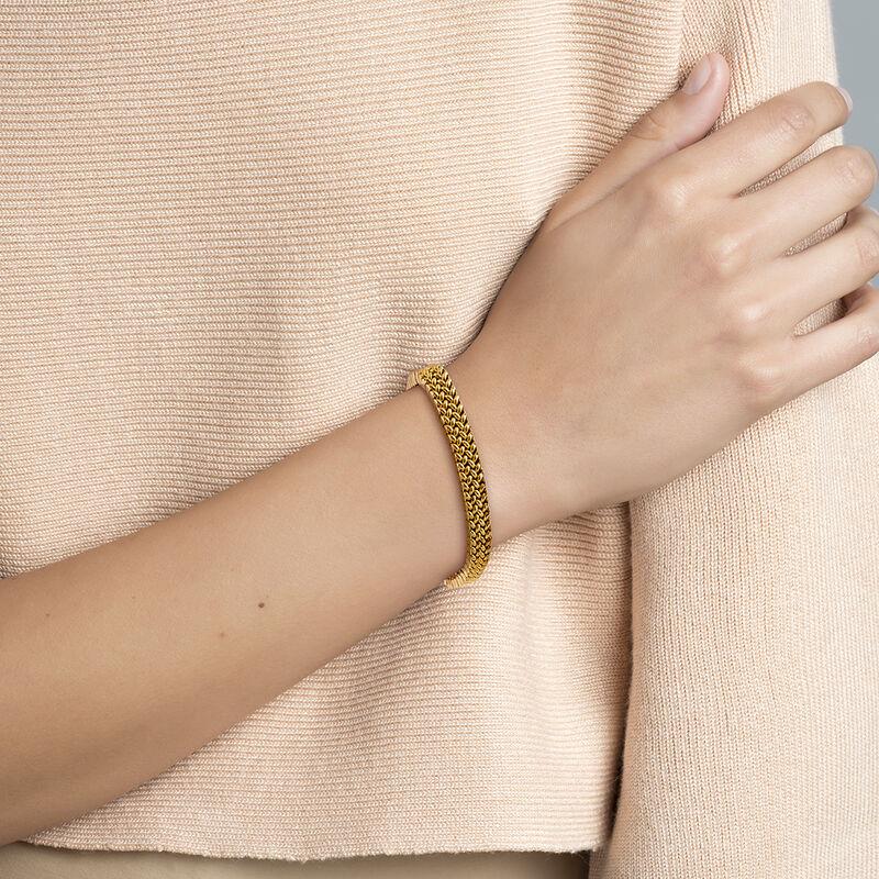 Brazalete eslabones oro , J01621-02, hi-res