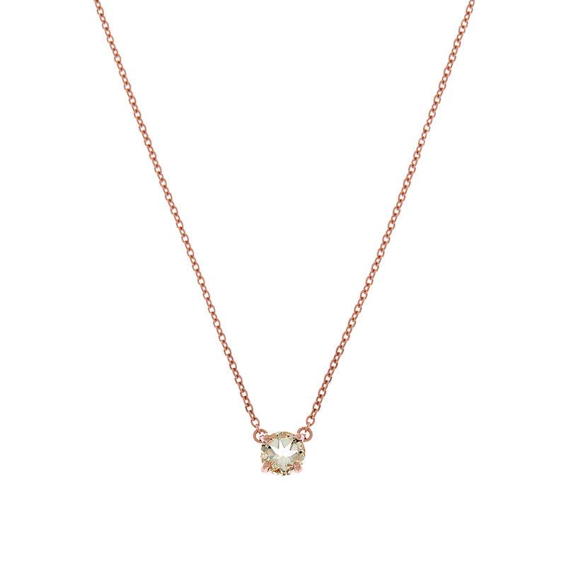 Colgante cuarzo verde grande plata recubierta oro rosa, J01777-03-GQ, hi-res