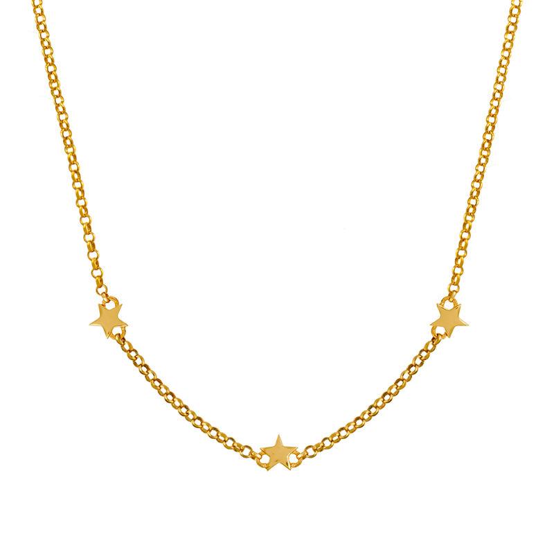 Colgante estrellas mini oro, J01900-02, hi-res