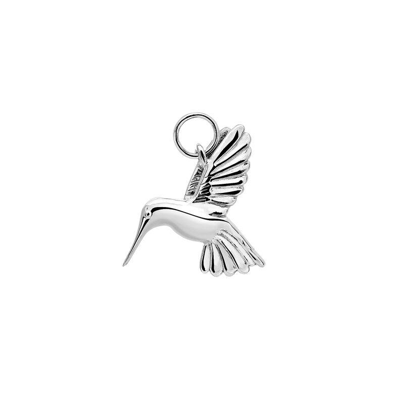 Colgante colibrí plata, J03443-01, hi-res