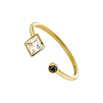 You and me ring topaz gold, J04086-02-WT-BSN, hi-res