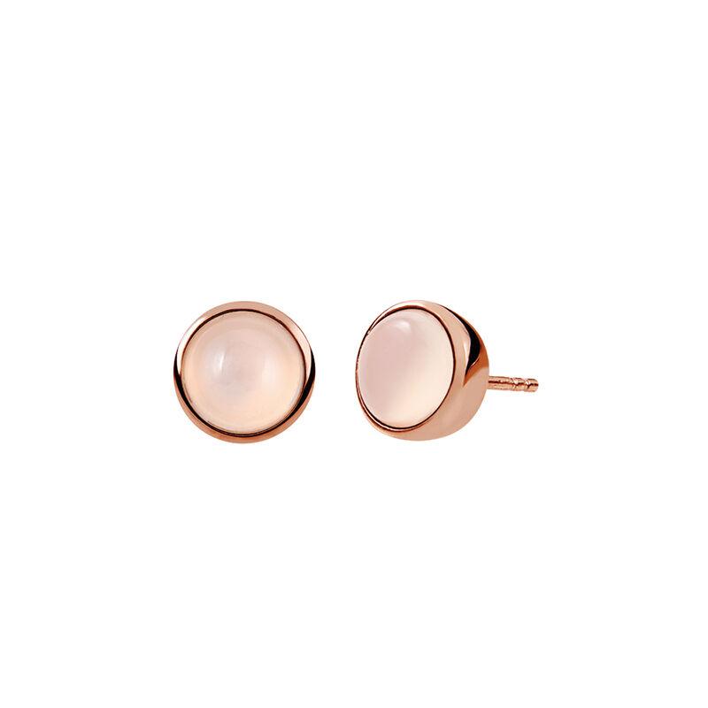 Pendientes cabujón oro rosa, J01975-03-WMS, hi-res