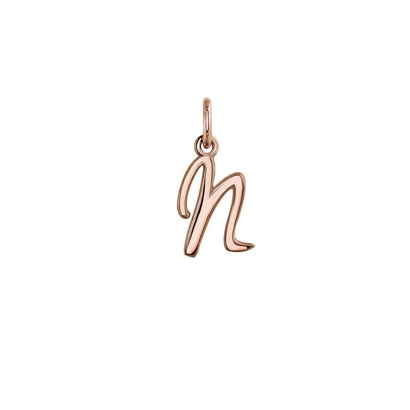 Colgante inicial N oro rosa, J03932-03-N, hi-res