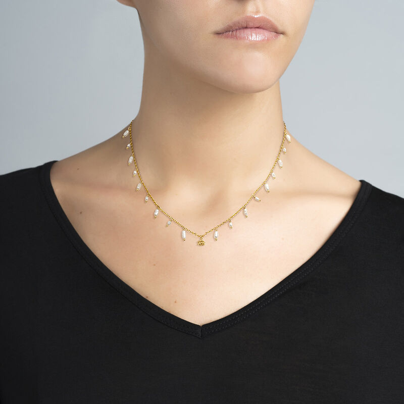 Collar perlas barrocas plata recubierta oro, J04457-02-WP, hi-res