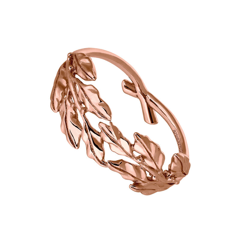 Anillo laurel oro rosa, J03453-03, hi-res