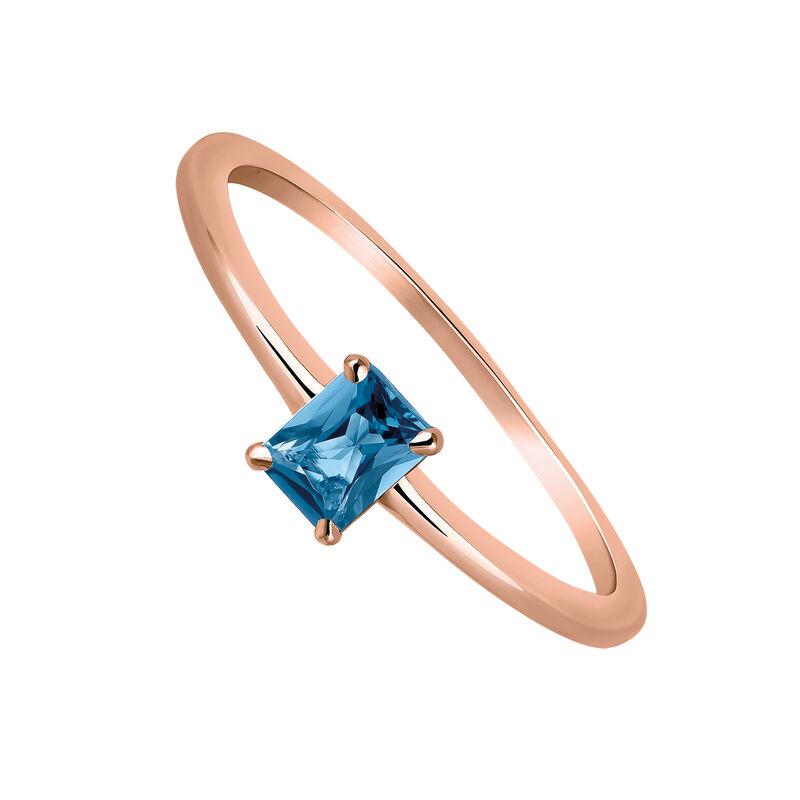 Anillo topacio azul plata recubierta oro rosa, J03254-03-LB, hi-res