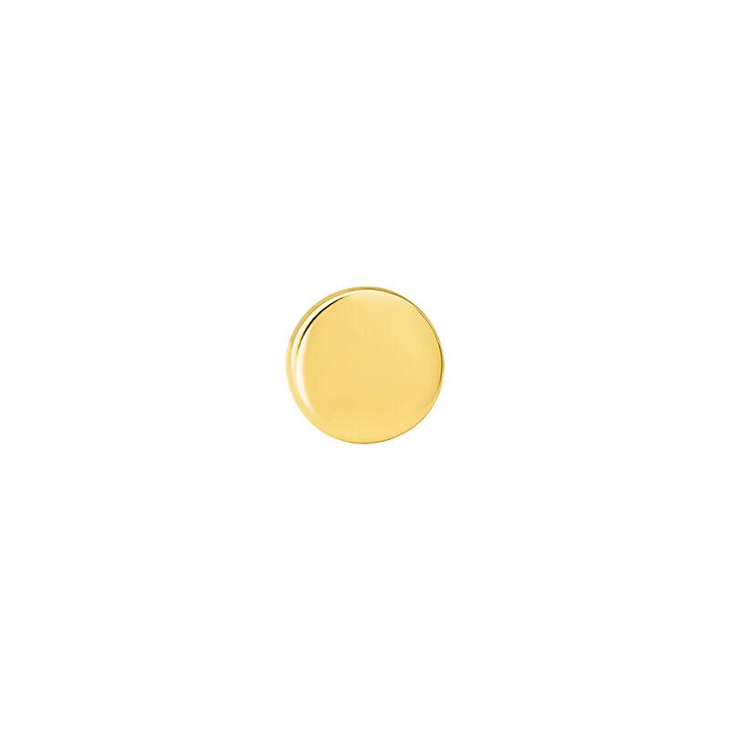 Pendiente piercing círculo grande oro 9 kt, J04522-02-H, hi-res