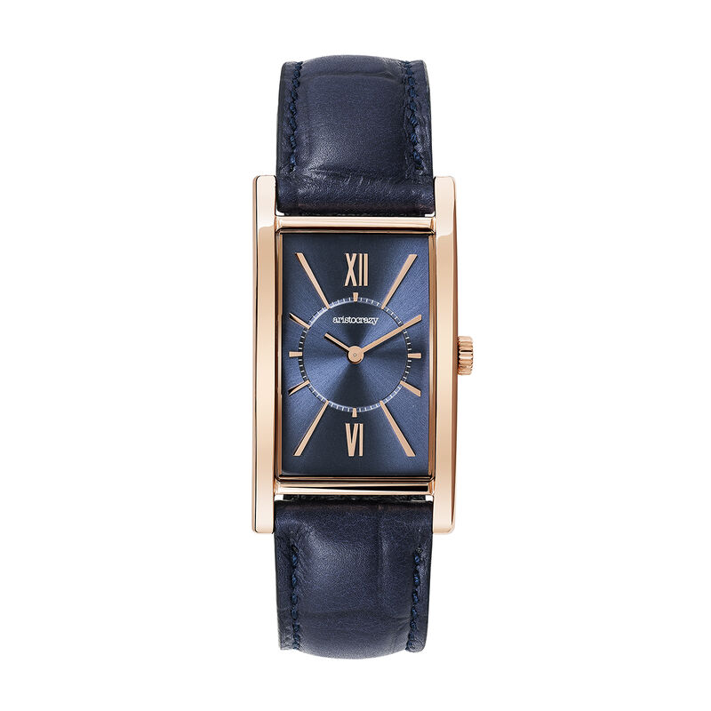 Le Marais watch blue strap