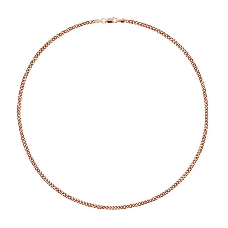 Cadena media barbada fina oro rosa, J01922-03-60, hi-res