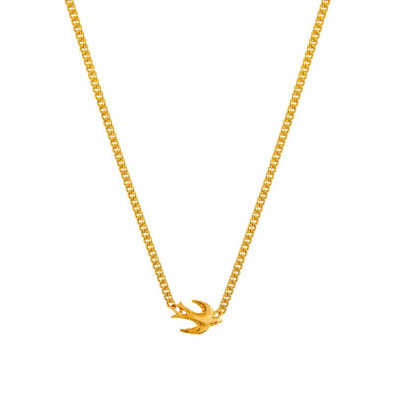 Colgante golondrina oro, J01868-02, hi-res