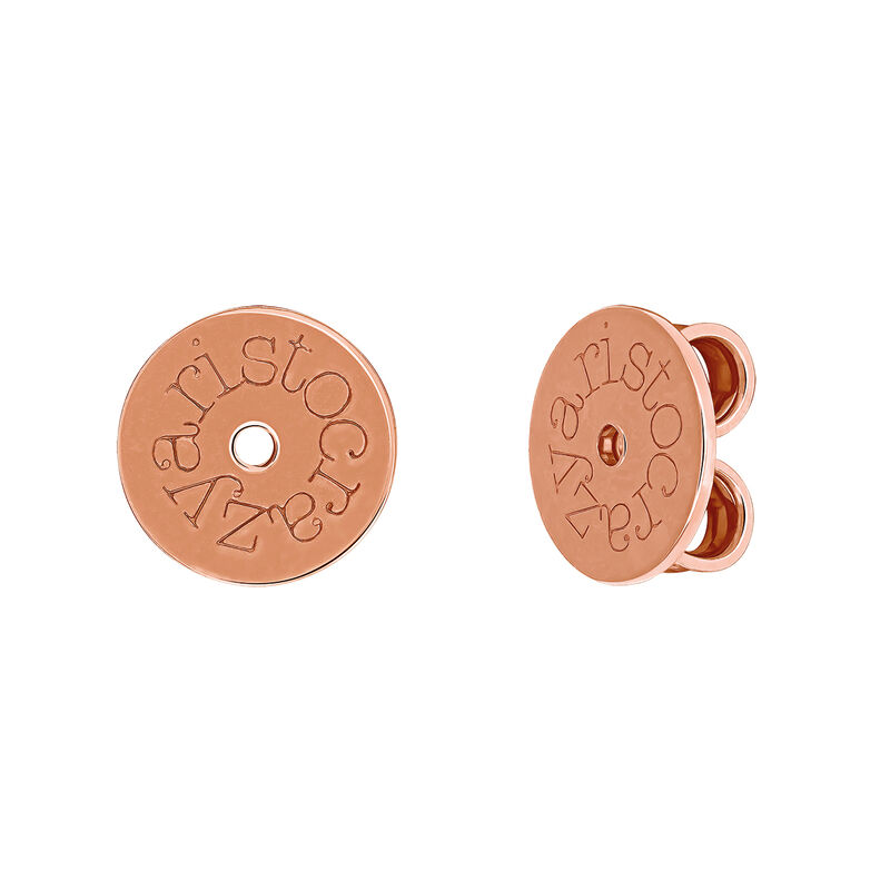 Rose gold plated snaps, F00001-PL-03, hi-res