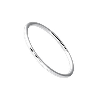 Simple white gold ring, J03854-01, hi-res