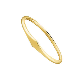 Gold rhombus ring, J03856-02, hi-res