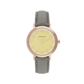 Reloj Venice correa esfera amarilla, W56A-PKPKPY-LEGR, hi-res