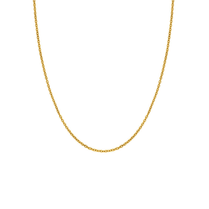 Long gold plated chain, J03737-02, hi-res
