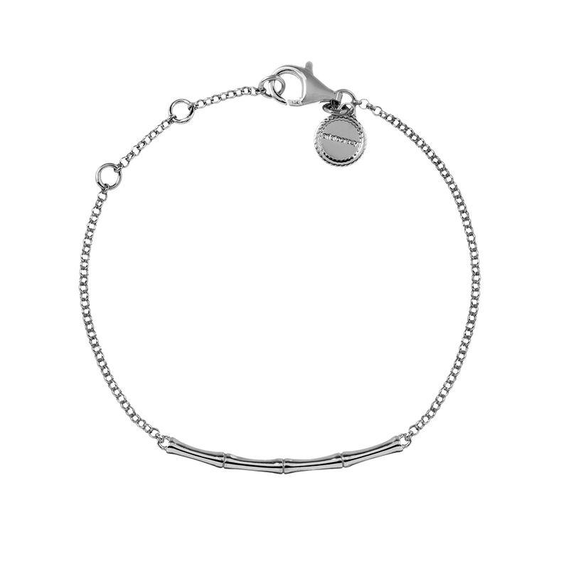 Bracelet bambou argent, J03043-01, hi-res