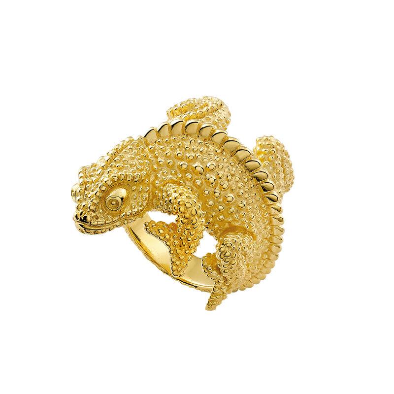 Anillo camaleón plata recubierta oro, J03178-02, hi-res