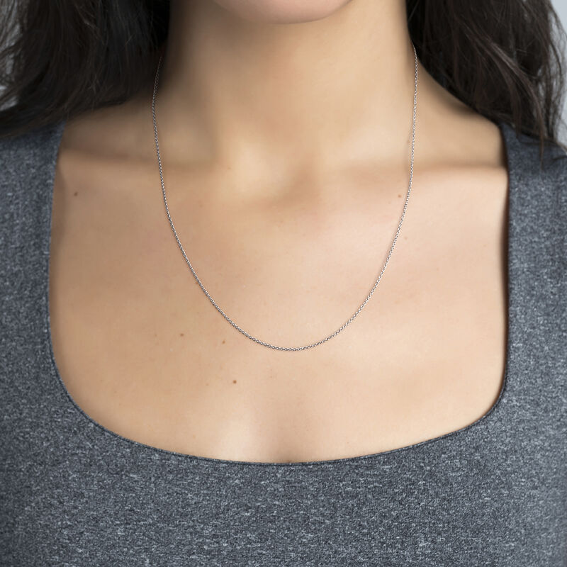 Long silver chain, J03737-01, hi-res
