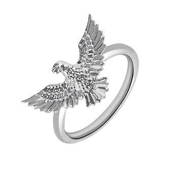 Anillo águila plata, J03050-01, hi-res