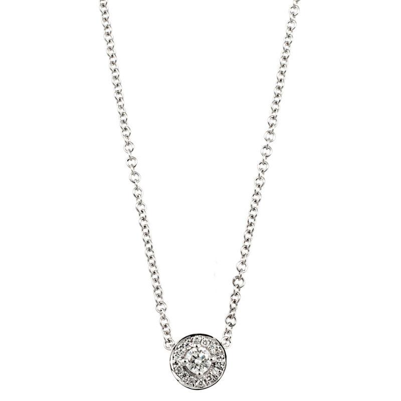 Colgante orla diamantes 0,19 ctoro blanco, J00183-01-10-GVS, hi-res