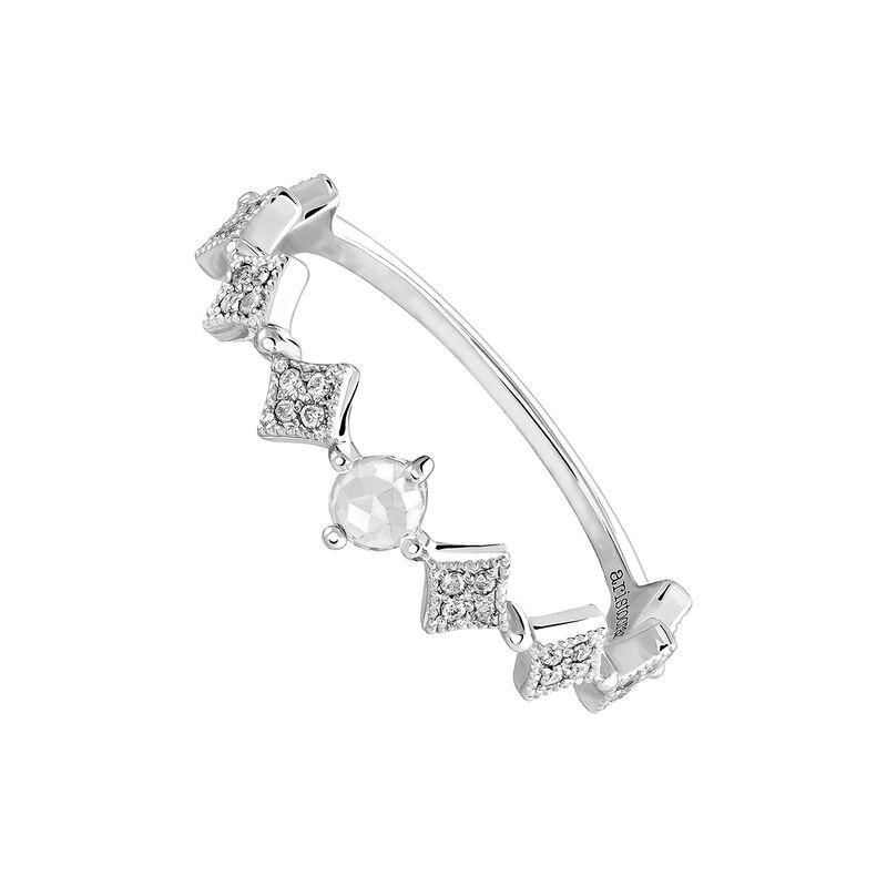 Silver Vintage Medium Ring, J03800-01-WT-GD, hi-res