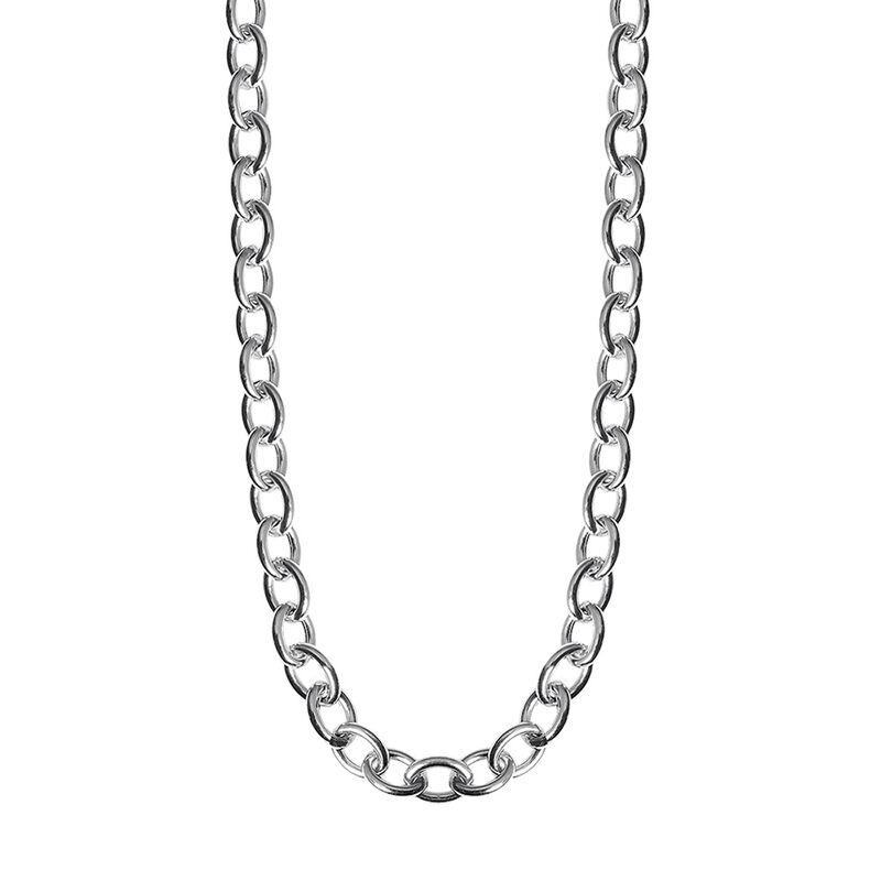 Silver forza maxi necklace, J01919-01-85, hi-res