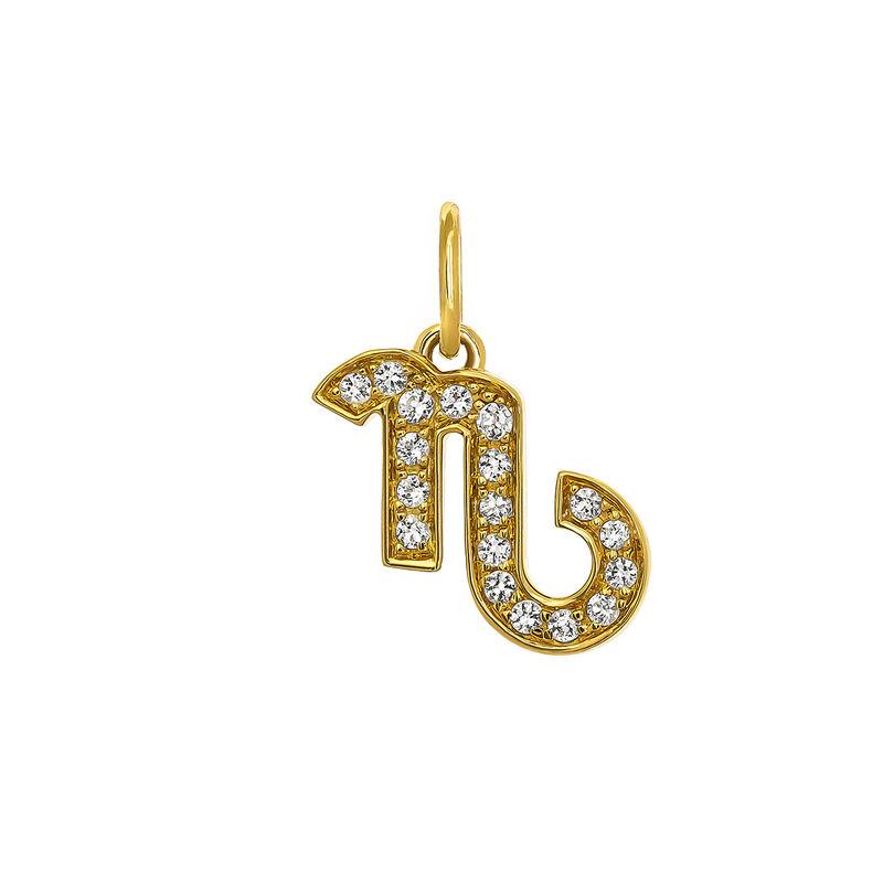 Colgante Capricornio oro, J03609-02-WT, hi-res