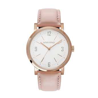 Montre Brooklyn bracelet rose, W45A-PKPKWP-LEPK, hi-res