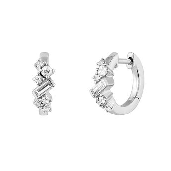 Silver topaz hoop earrings, J04671-01-WT, hi-res