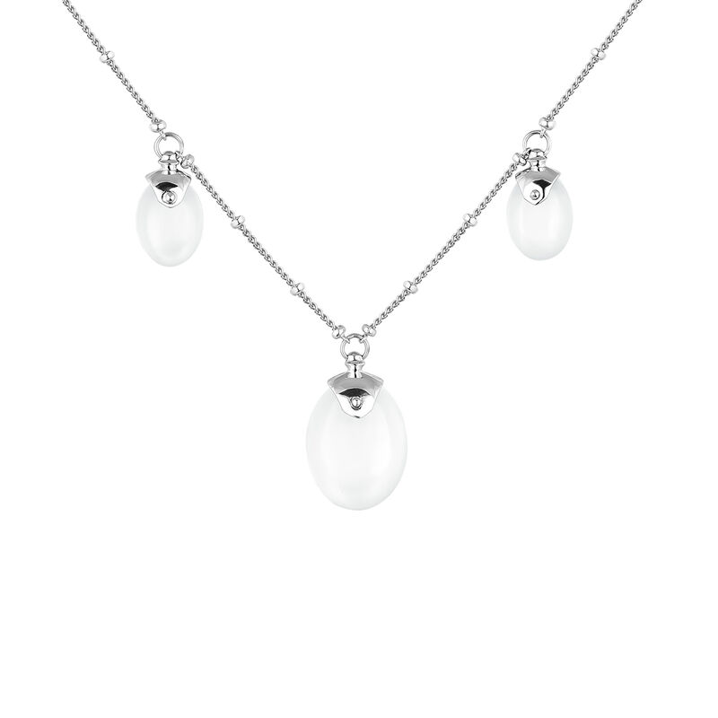 Silver moonstone necklace, J04160-01-WMS, hi-res