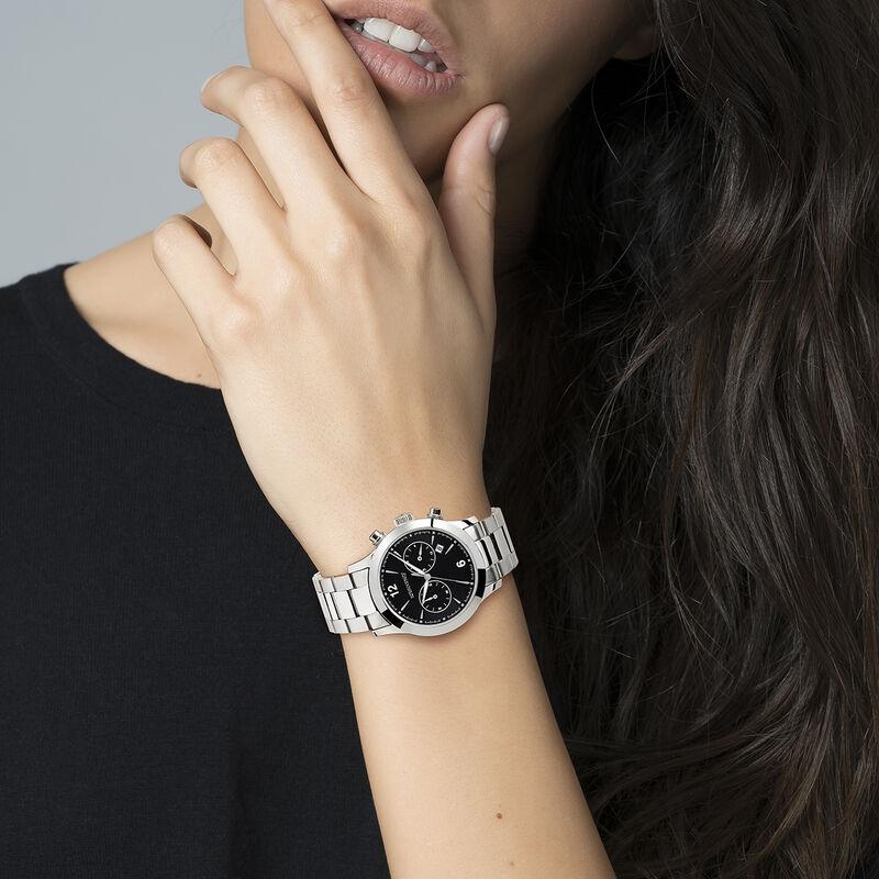 Tribeca black sphere watch, W53A-STSTBL-AXST, hi-res