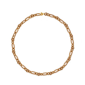 Collar forzá plata recubierta oro rosa, J01336-03, hi-res