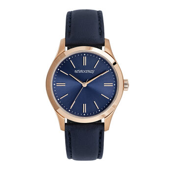 Mitte watch blue strap blue face, W41A-PKPKBU-LEBU, hi-res
