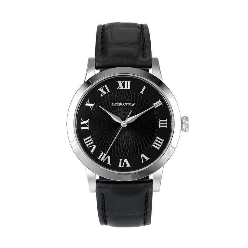 Brera watch strap black face, W44A-STSTBL-LEBL, hi-res