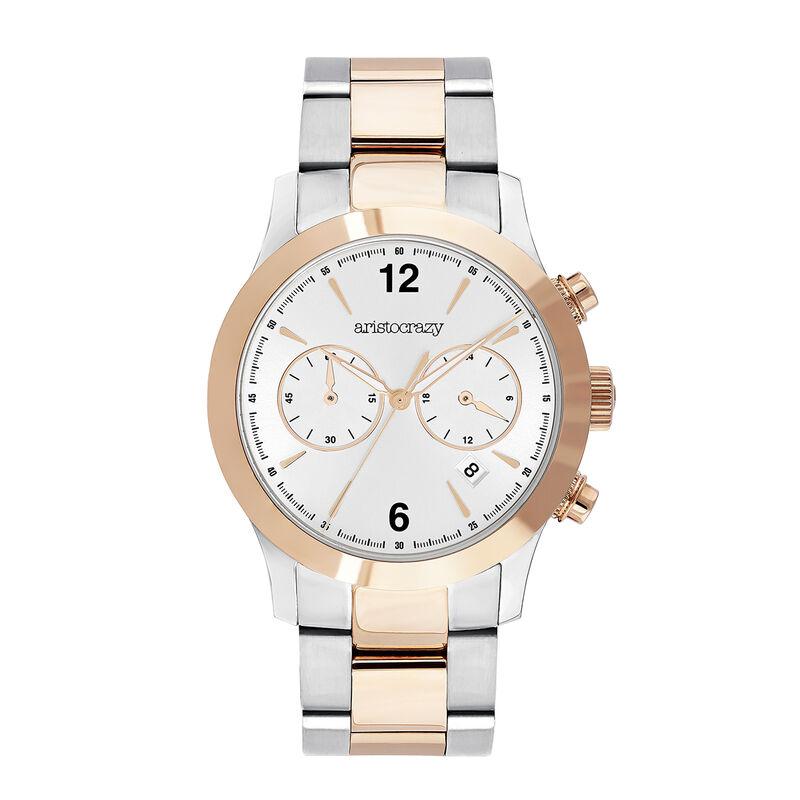 Reloj Tribeca bicolor, W53A-STPKGR-AXMX, hi-res