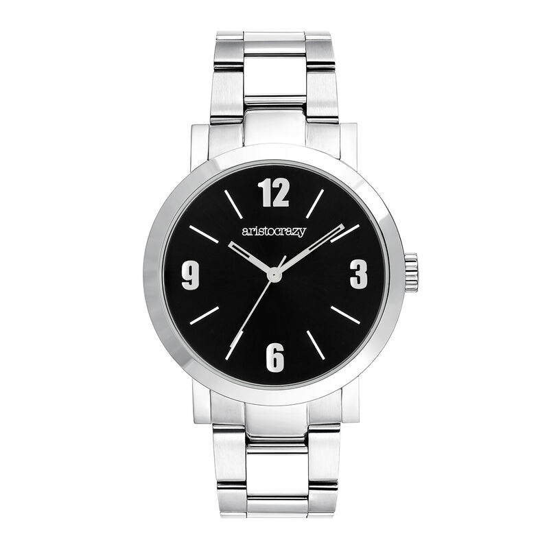 La Condesa watch black face, W54A-STSTBL-AXST, hi-res