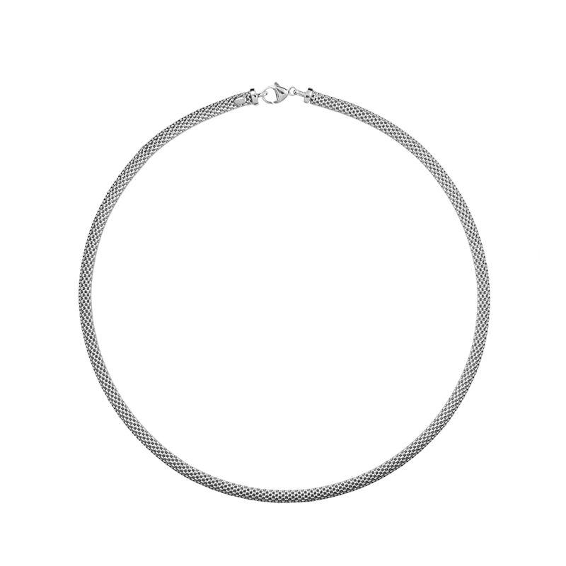 Collar fino malla plata, J01338-01, hi-res