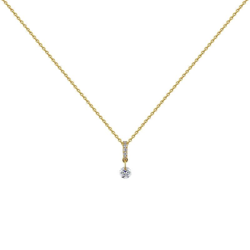 Collar diamantes oro, J04431-02, hi-res