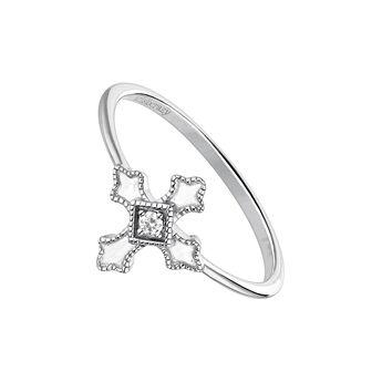 Anillo cruz topacio plata, J04225-01-WT, hi-res