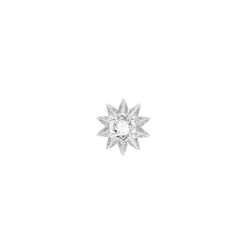 Pendiente topacio blanco diamante plata, J03303-01-WTHSP, hi-res