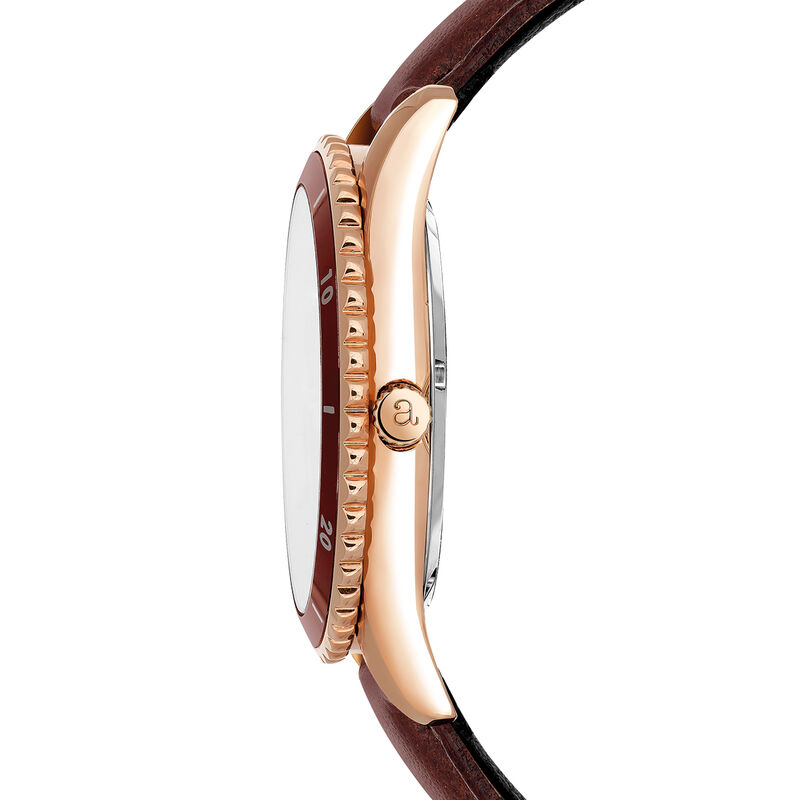 Shibuya watch strap brown face, W43A-PKBRBR-LEBR, hi-res