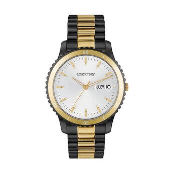 Montre Shibuya bracelet acier cadran gris, W43A-STYWGR-YMIX, hi-res